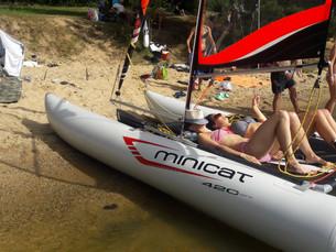 Minicatamaran - Výlet k vodě