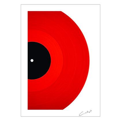 VINYL IN RED | Erwin Canlas