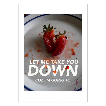 Food Porn Series: LET ME TAKE U DOWN | Jazel Kristin