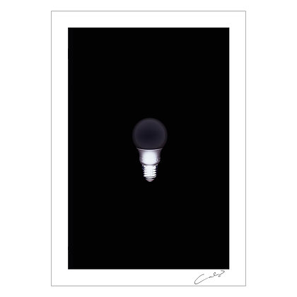 WHITE BULB INVERTED | Erwin Canlas