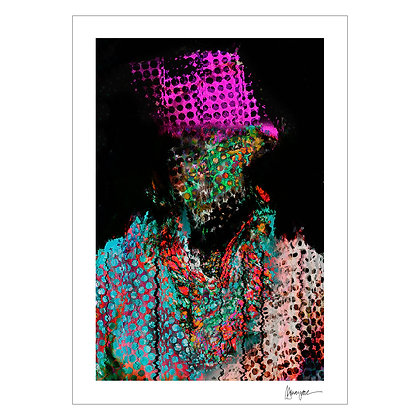 PERFORATED PORTRAIT III | MJ Suayan