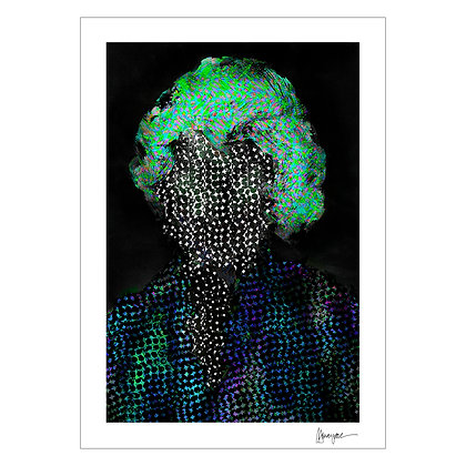 PERFORATED PORTRAIT II | MJ Suayan