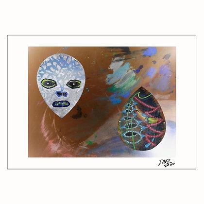2 Dead Masks | Zeus Bascon