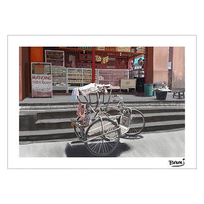 Pedicab | Benjie M. Marasigan Jr.