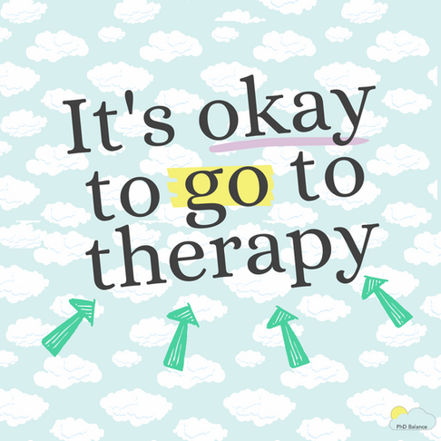 It's Okay To Go To Therapy!