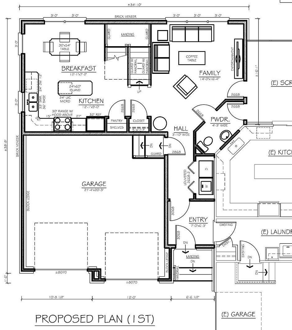 Architect in law suites for Floor plans for in law suite addition