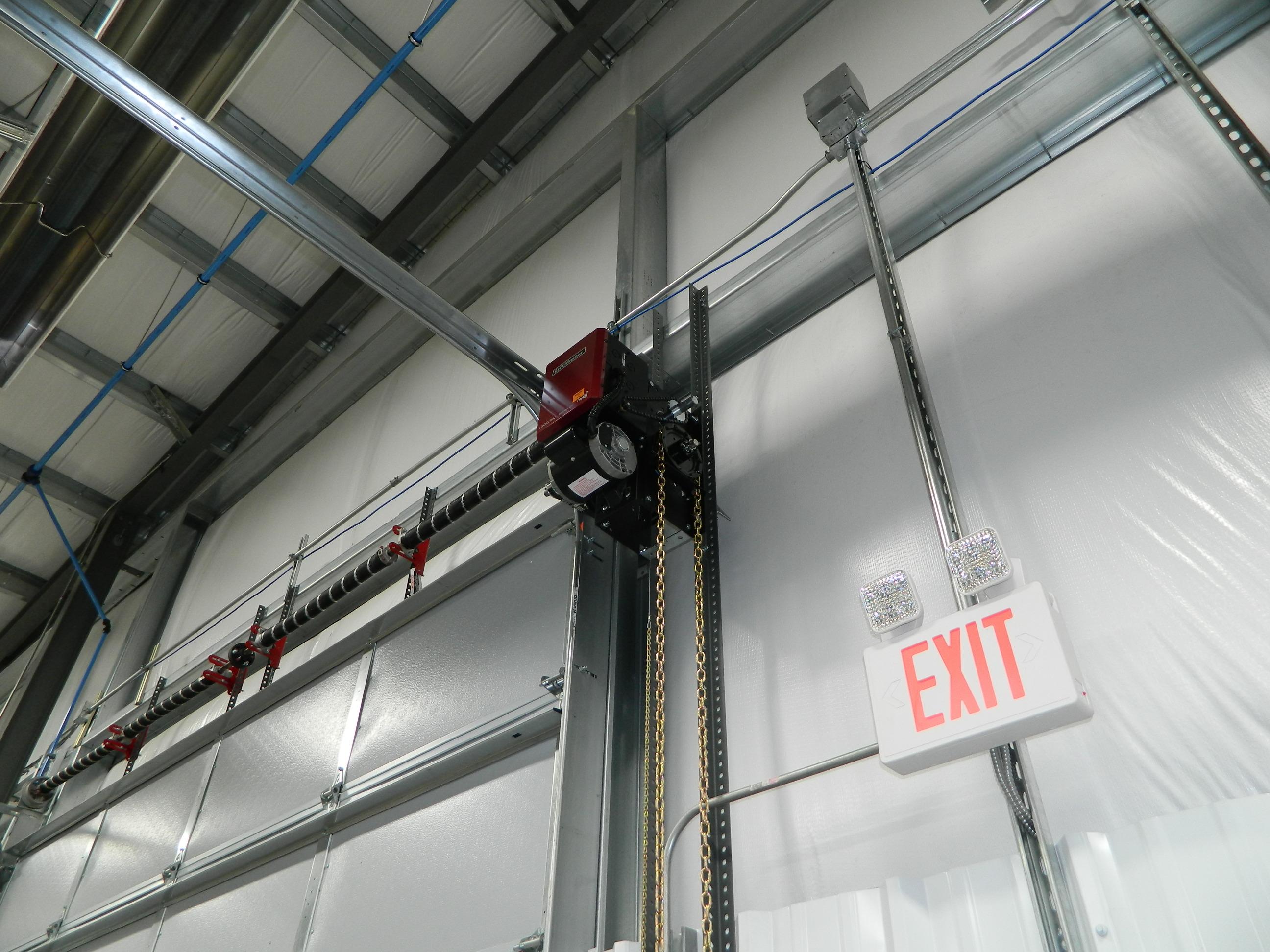 Overhead door equipment