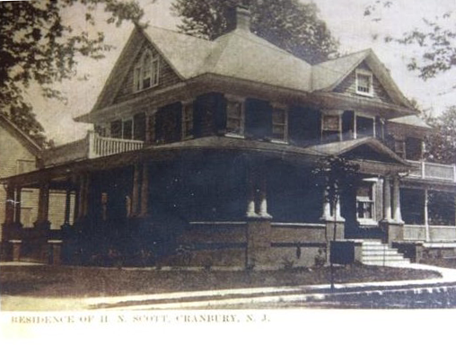 Original front porch to be restored