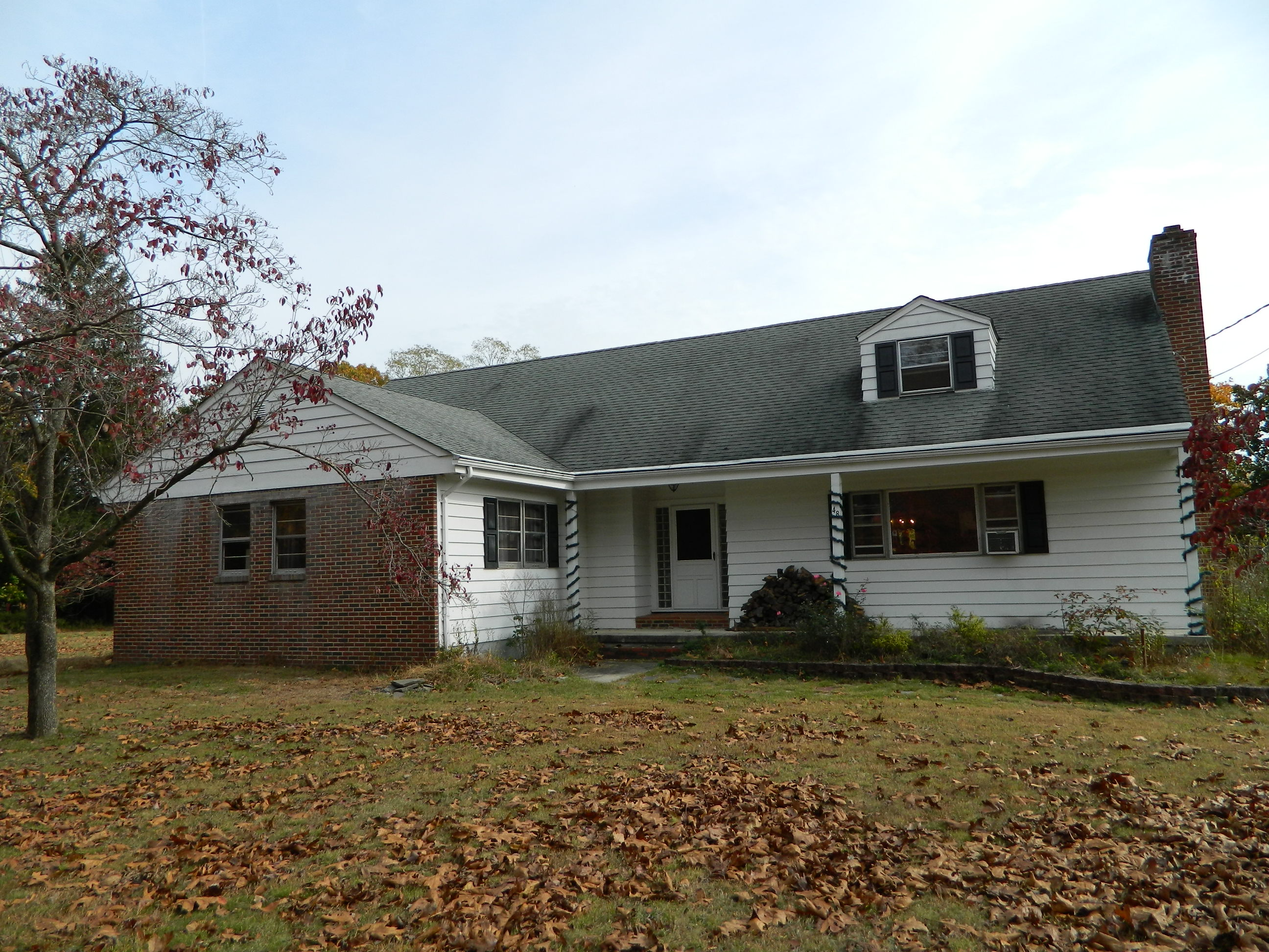 Existing front of home