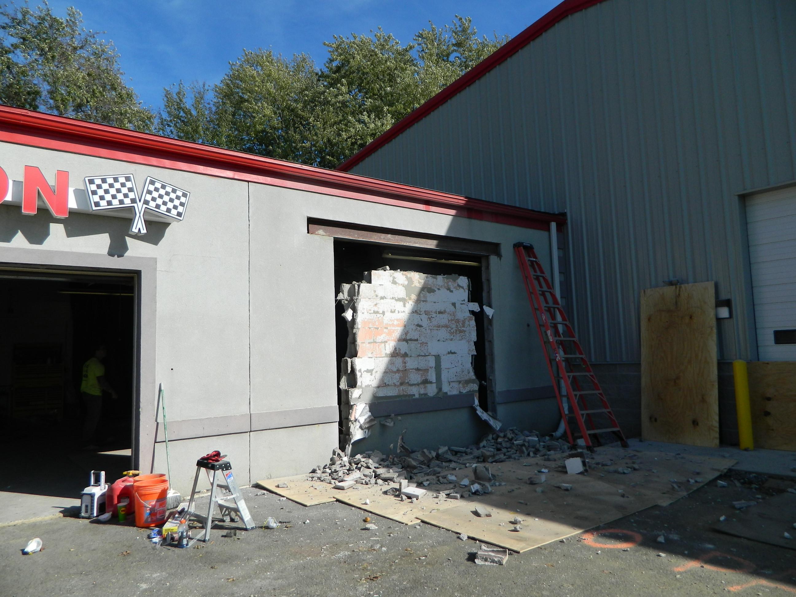 Additional garage bays