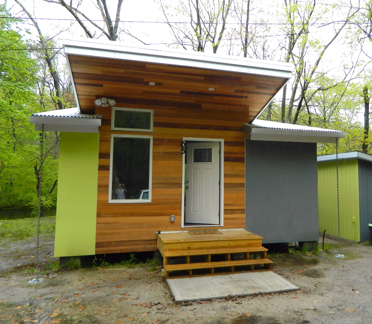 Custom 400 square-foot tiny home