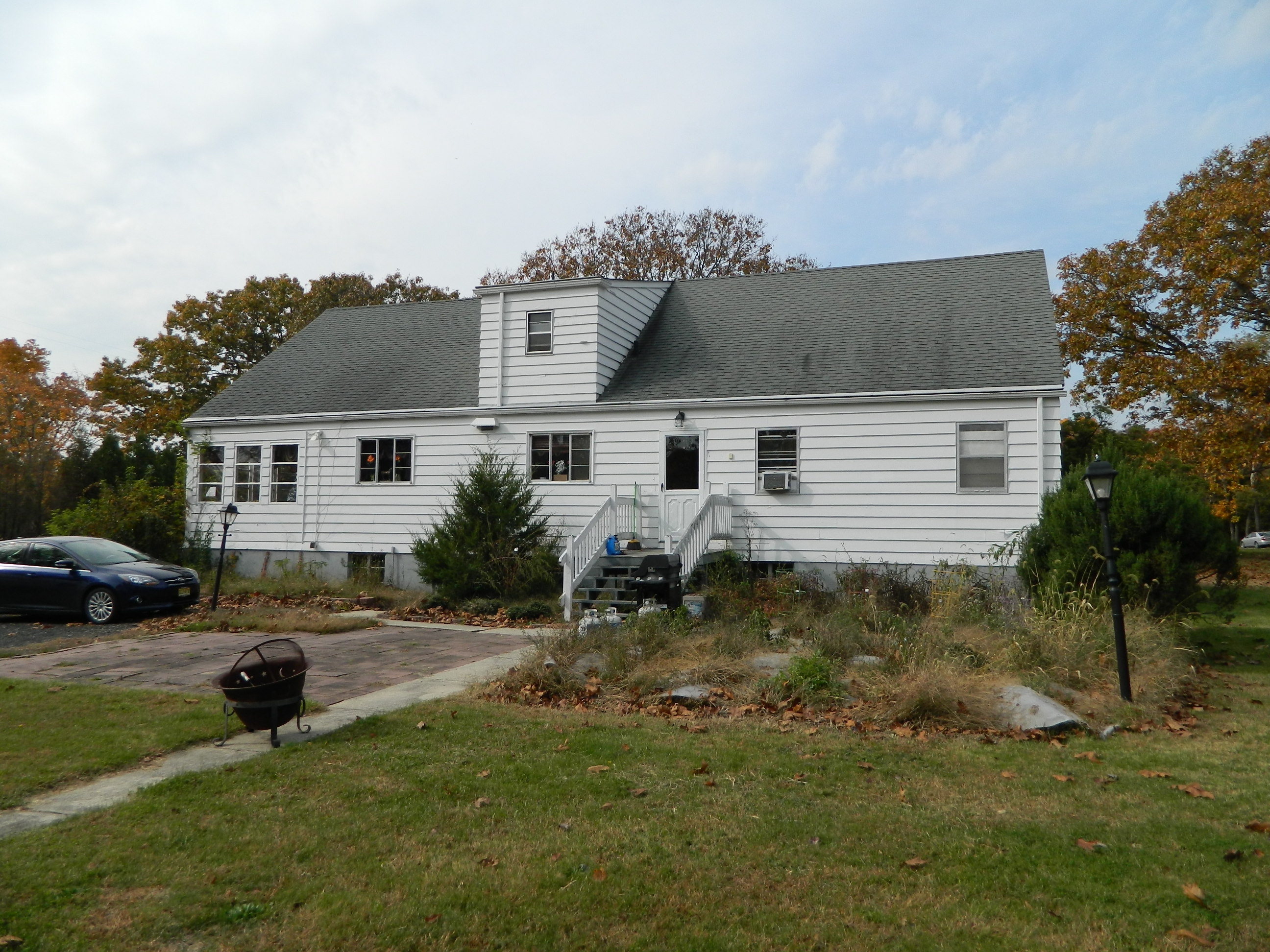 Existing rear of home