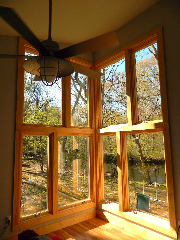 Interior window wall