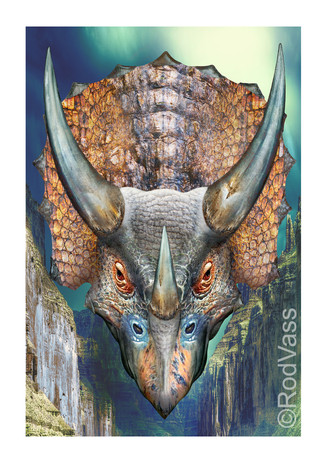 Triceratops - By Rod Vass