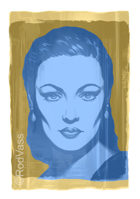 Blue Athena - By Rod Vass