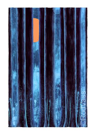 Blue Temple - By Rod Vass