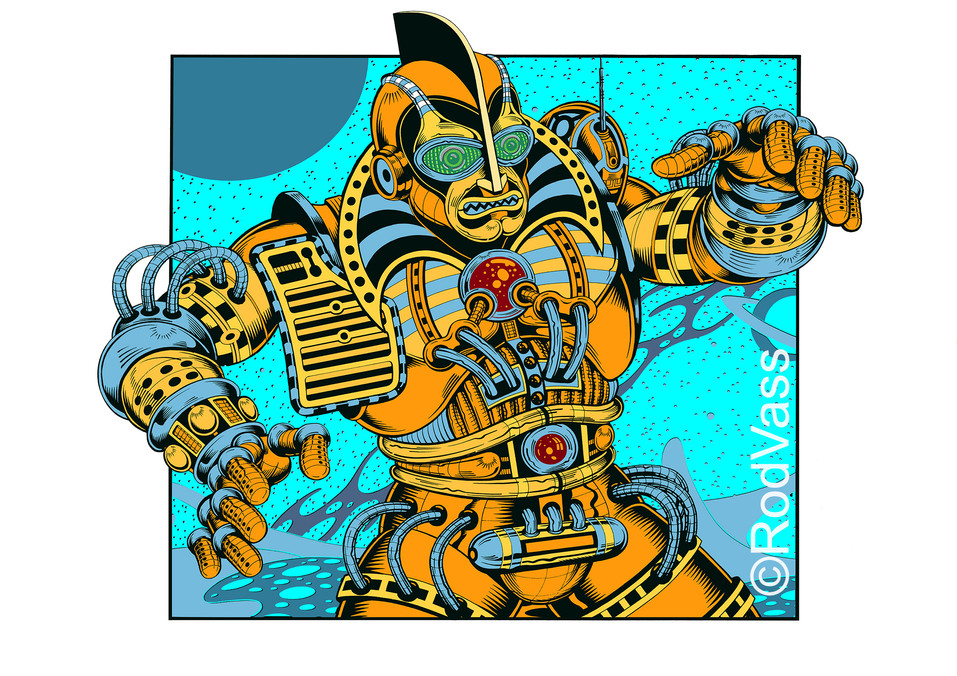 Madbot One - By Rod Vass