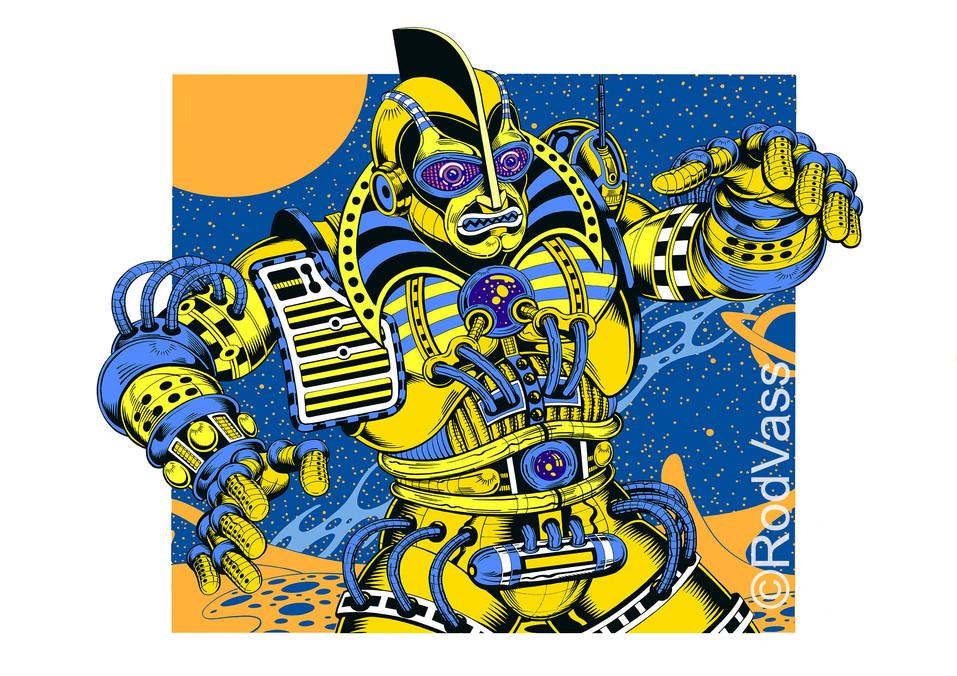 Madbot TWO - By Rod Vass