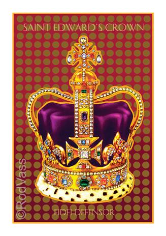 Saint Edward's Crown - By Rod Vass
