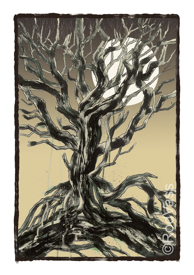Ragged Tree - By Rod Vass