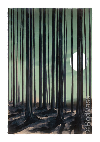 Woods Edge - Right Panel - By Rod Vass