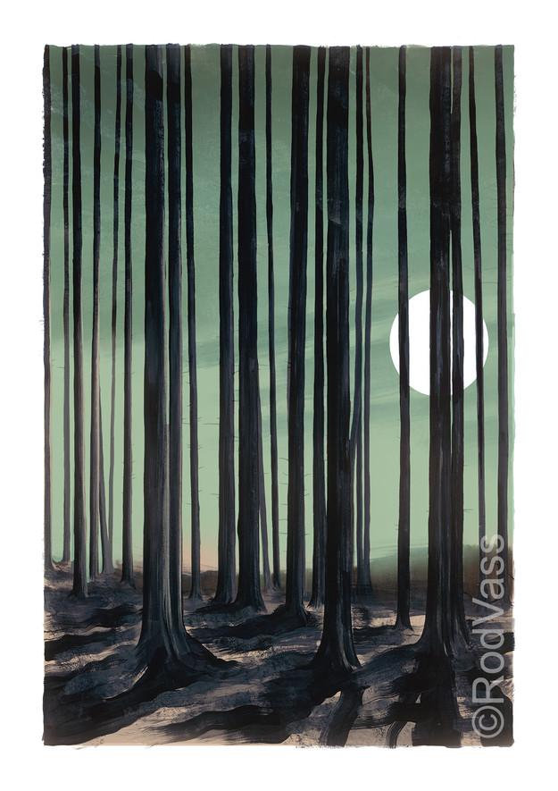 Woods Edge - Right Panel - By Rod Vass