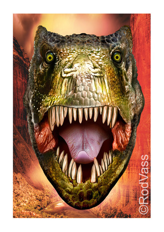 Tyrannosaurus Rex - By Rod Vass