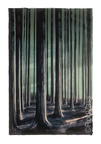 Woods Edge - left-panel - By Rod Vass
