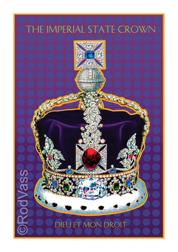 Imperial State Crown - By Rod Vass