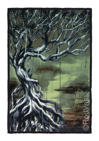 Marsh Tree - By Rod Vass