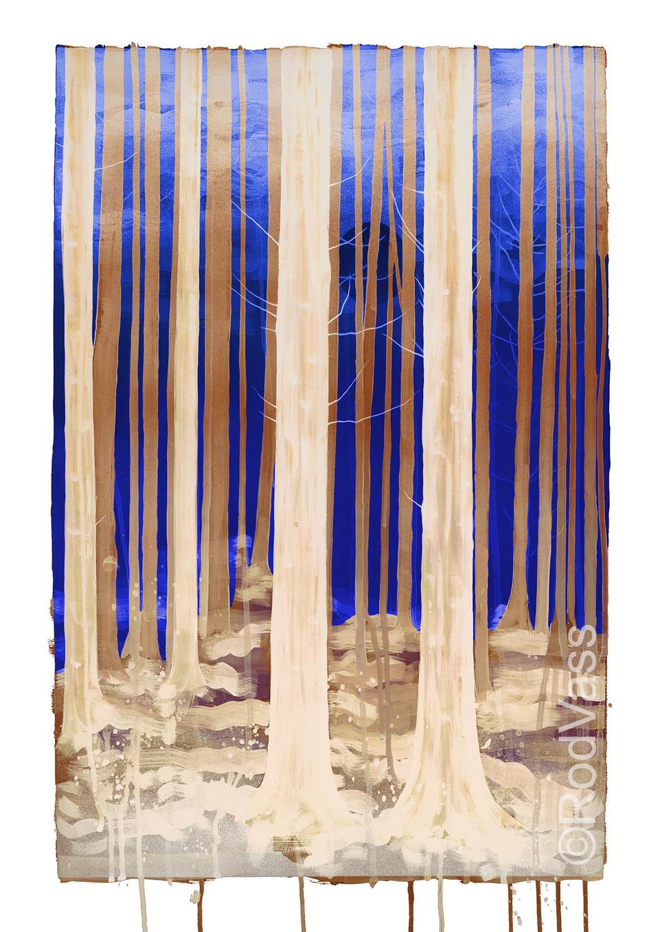 Sapphire Sky - Right panel - By Rod Vass