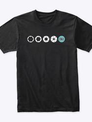Aperture design t-shirt