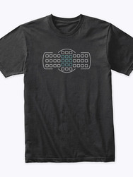 Focus points design t-shirt