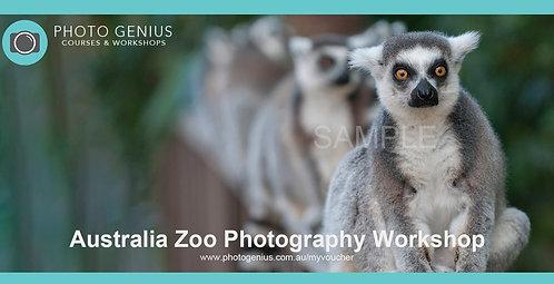 Australia Zoo Photography Workshop