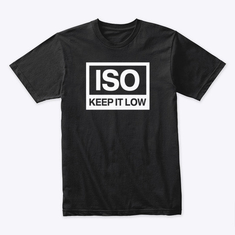 ISO keep it low t-shirt