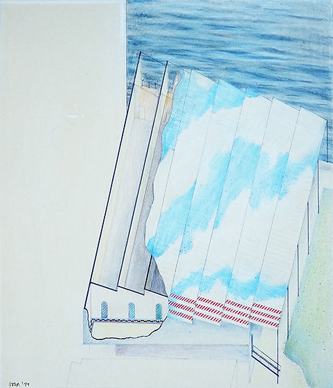 architectural drawings, Michael Gold, archietcts, Chelsea