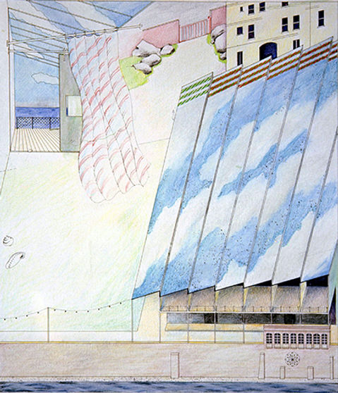 architectural drawings, Michael Gold, Chelsea