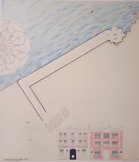 architectural drawings, Michael Gold, architects, Chelsea