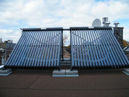 Vac Tubes Flat Roof