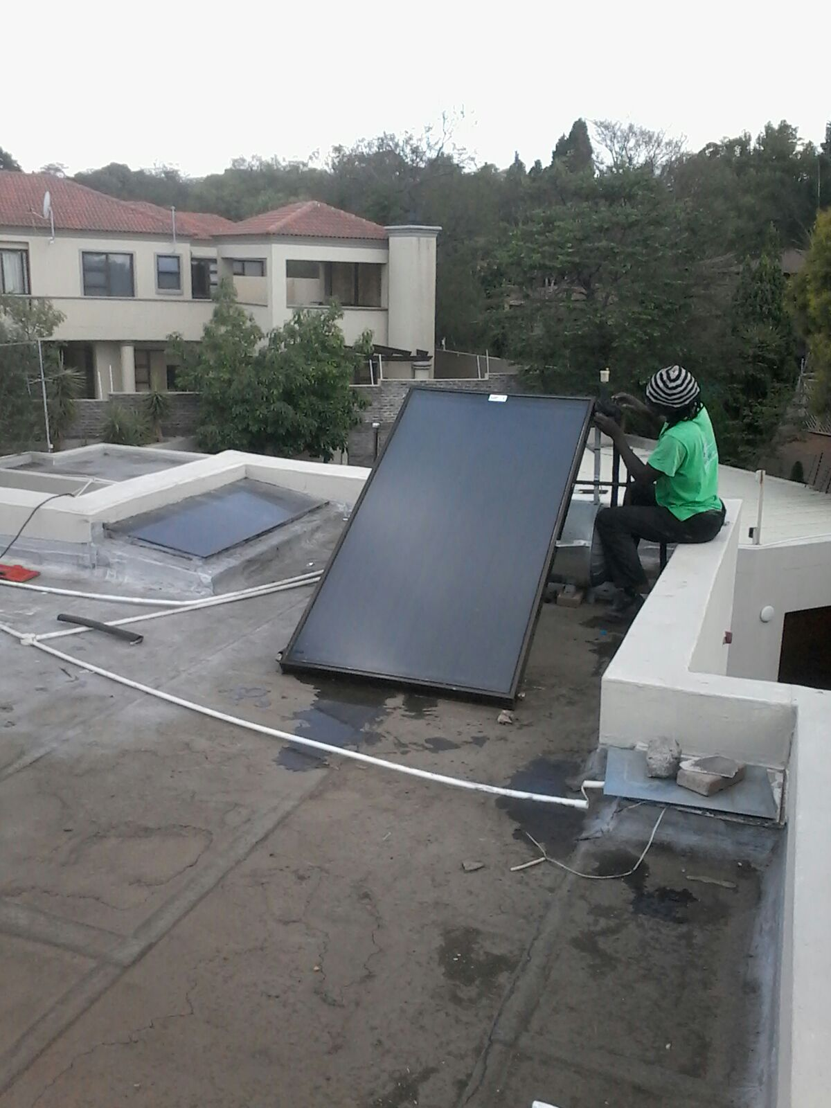 New Solar Panels and Repairs