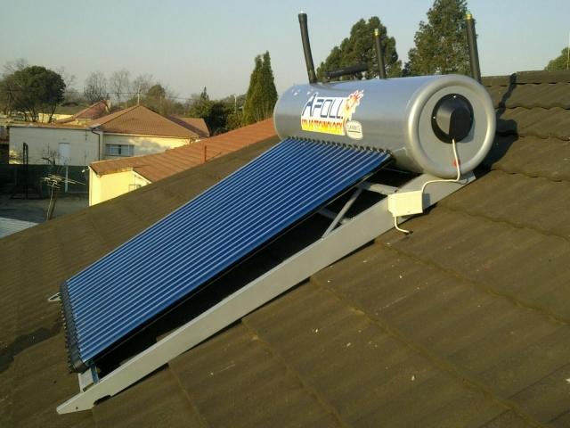 300lt Full Solar System - Stainless Steel Geyser 2