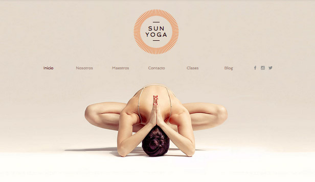 Ver todas las plantillas website templates – Centro de yoga
