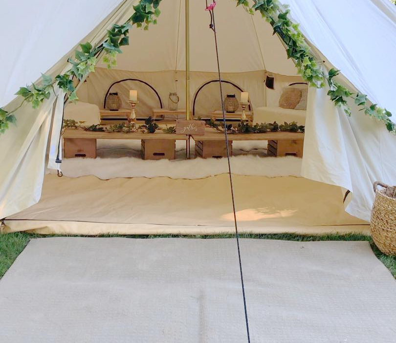 Bell Tent- Luxury Party Lounge