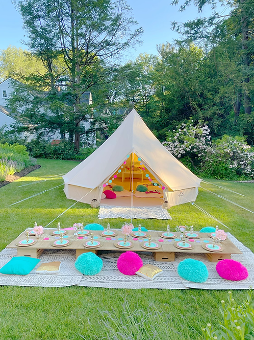 Bell Tent Picnic package