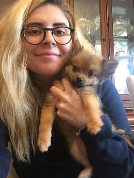 V EXCITING NEWS: I got a puppy!