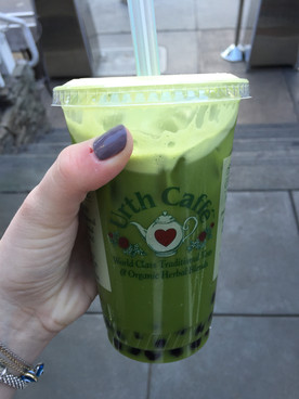 SHOUT OUT: Green Tea Boba from Urth Caffé