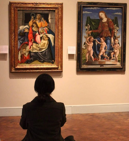 Botticelli vs Cosmè Tura