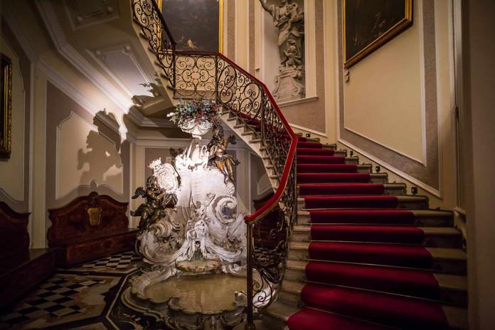 Lo Scalone del Museo Poldi Pezzoli