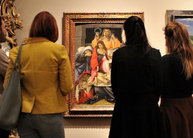 Botticelli regala sempre molte emozioni