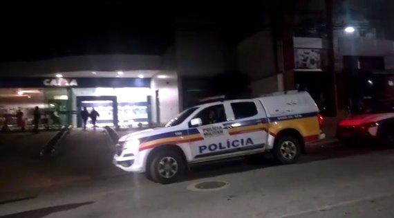 Assalto a banco em Pouso Alegre
